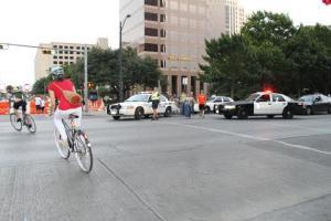 Me on my bike downtown