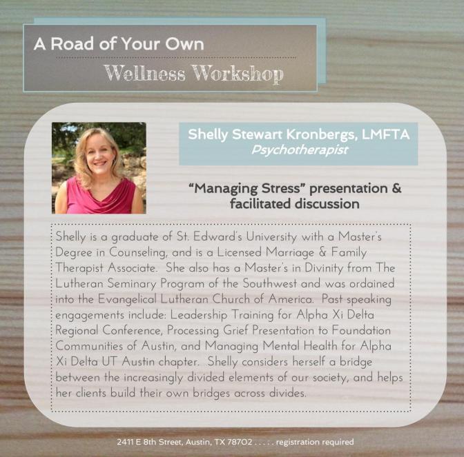 bio and photo of Shelly Stewart Kronbergs Psychotherapist