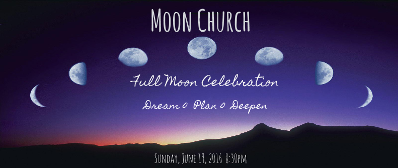 Full Moon Church - June event cover