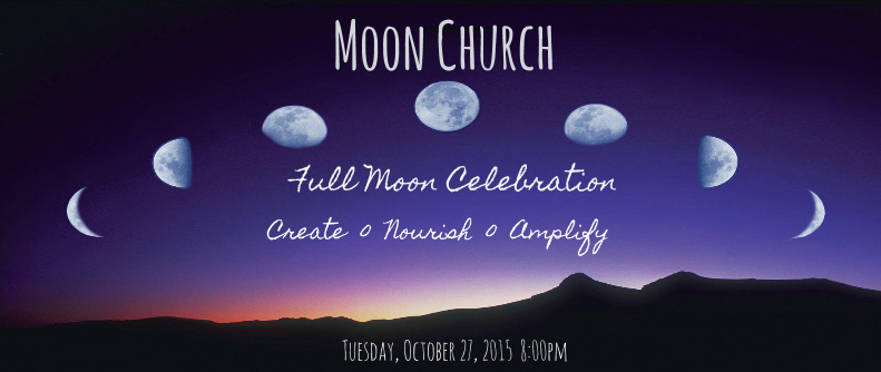 Full Moon Church - Oct event cover