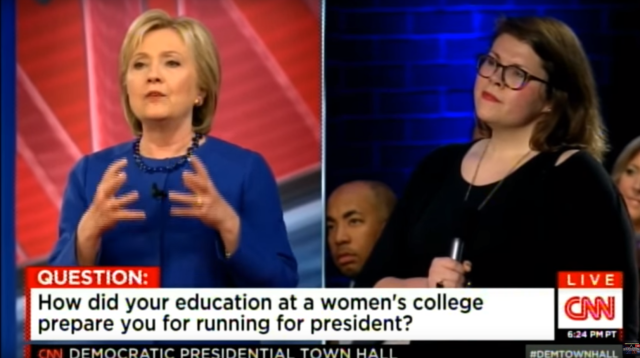 """""""What I got out of going to a women's college, is that women ran everything."""""""