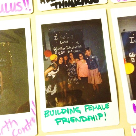 """In school I learned ... """"how to build female friendship!"""" 66 million girls don't get that chance"""